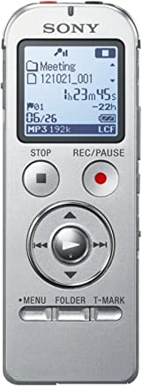 Sony ICDUX533S - Grabador de sonido digital portatil