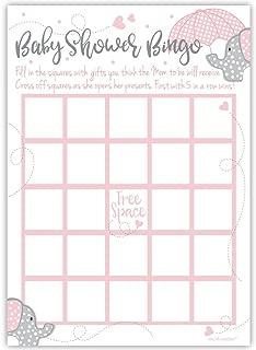 baby gift bingo cards