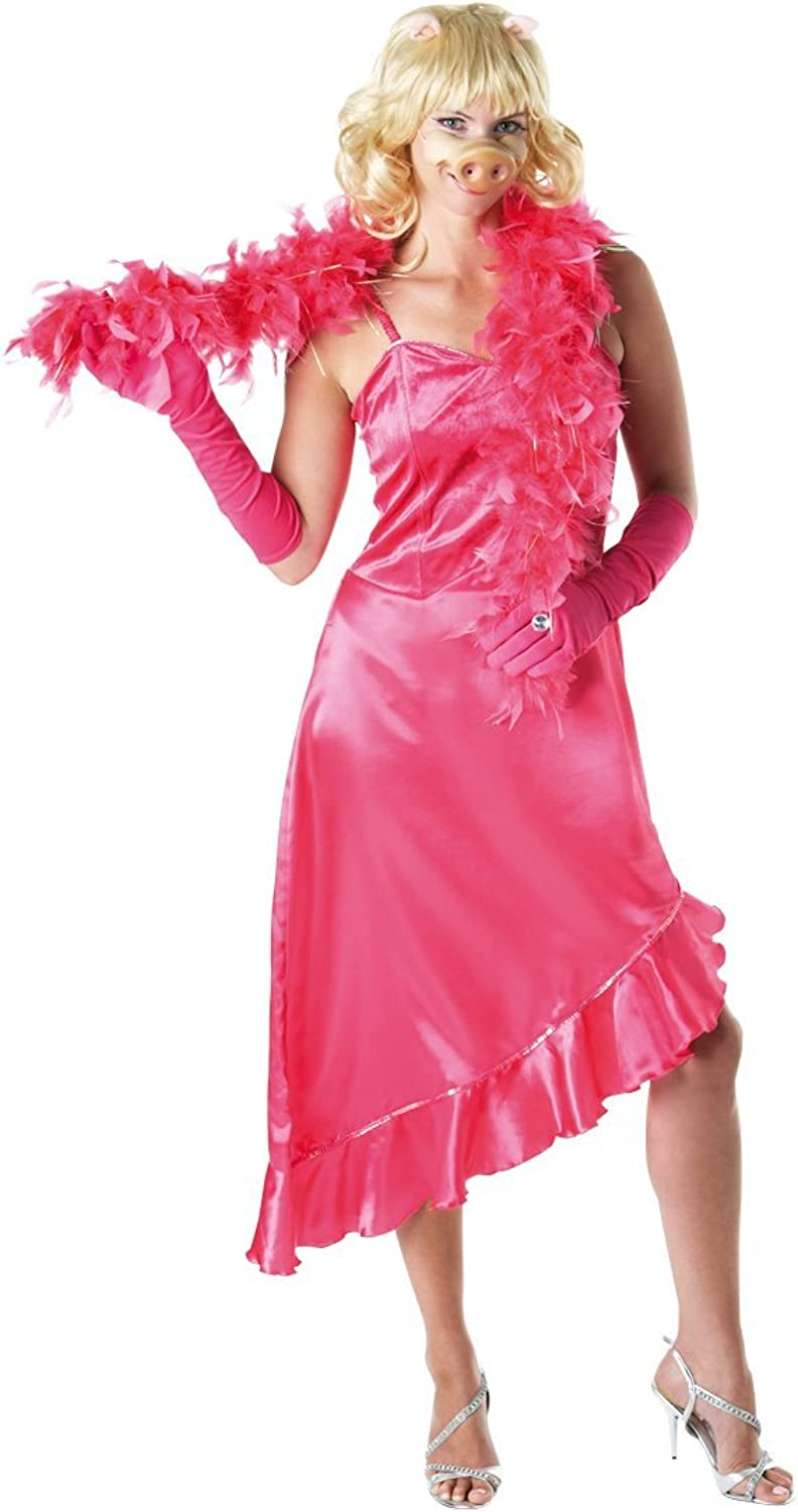 Rubie's Official The Muppets Miss Piggy Adult's Costume Lady  Large