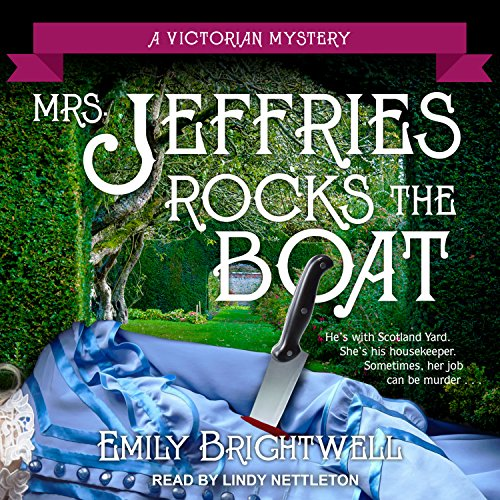 Mrs. Jeffries Rocks the Boat audiobook cover art