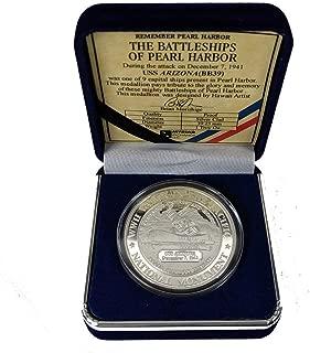 Pacific Historic Parks USS Arizona Commemorative Coin Silver Clad
