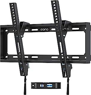 [Amazonブランド] Eono(イオーノ) テレビ壁掛け金具 26-55インチ対応 薄型 耐荷重40kg LCD LED 液晶テレビ用 チルト 角度調節可能 VESA400x400mm ネジ類 水準器付き 日本語説明書付き