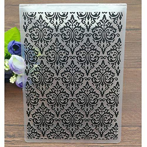 Juecan Embossed plastic bloemen mappen voor DIY scrapbook papier ambacht/maken decoratie kaarten benodigdheden