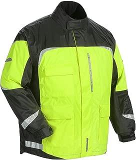 Tourmaster Women's Sentinel 2.0 Rain Jacket (Medium) (HI-VIZ Yellow/Black)