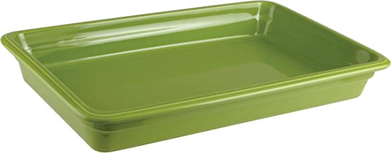 Paderno World Cuisine 44312G06 Induction or Porcelain Hotel Pan Large Green