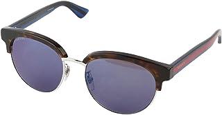 غوتشي نظارات شمسية للرجال، رمادي