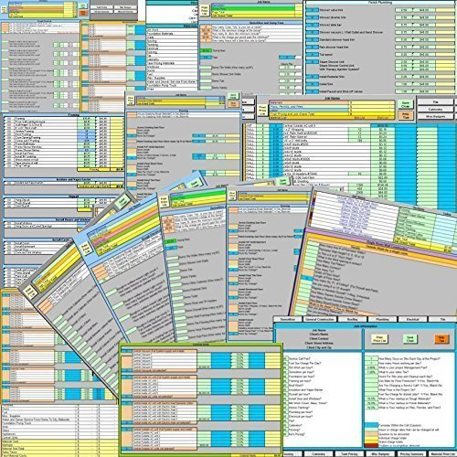 Price Zip Plumbing Pricing Excel Template... Price by simple everyday questions