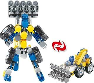 68 Pieces Transformable Construction Blocks Building Blocks 3D Blocks Building Tiles JoinBuy