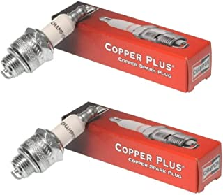 Small Engine Spark Plug for Lawn Equipment, (2 Pack) Champion CJ8 (843