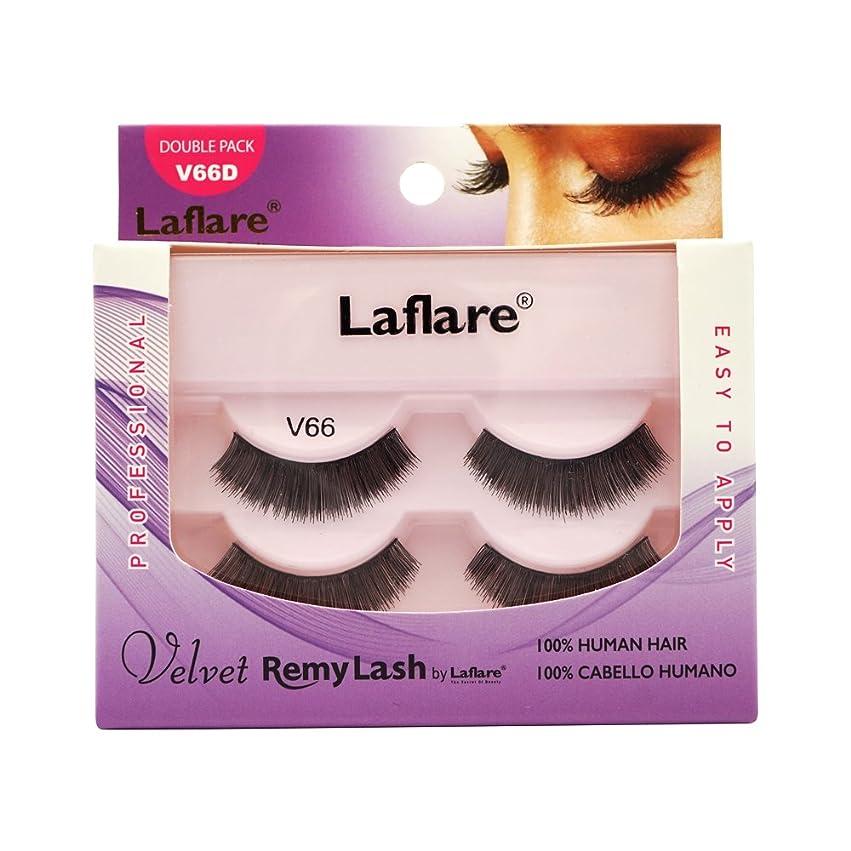 ブラスト正統派展望台LAFLARE Velvet Remy Lash Double Pack - V66D (並行輸入品)