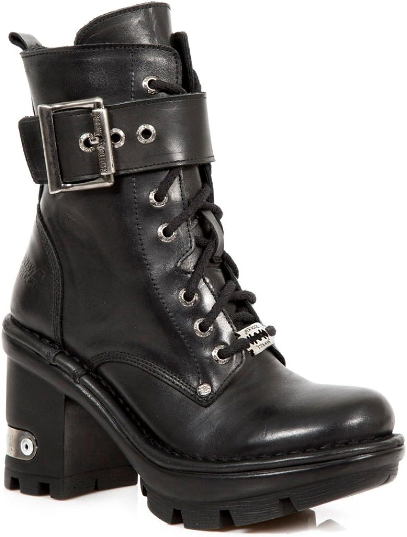 New Rock Newrock NR M.NEOTYRE13 S1 Black Boots - Womens
