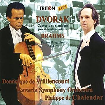 Antonín Dvořák: Concerto en si mineur - Johannes Brahms: Danses Hongroises (Live)