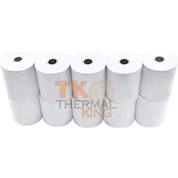 Thermal Receipt Printer Paper POS Systems No BPA Premium Paper for Most Pos Receipt Printers Paper for Clover pos Clover Station Made in USA Cash Register Star MicronicsTSP143IIU Gry US ECO