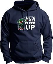 ThisWear Dabbing Santa's Elf Let's Get Elfed Up Premium Hoodie Sweatshirt