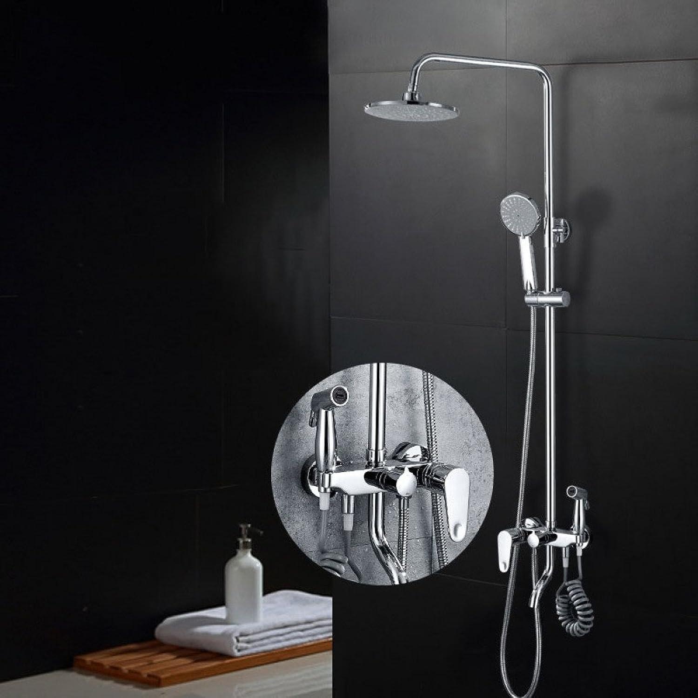 ZHWY Shower set three Fourth gear take a shower handle Hand shower