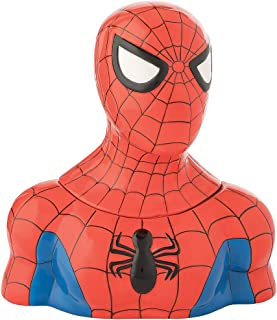 Vandor Marvel Spider-Man Sculpted Ceramic Cookie Jar #26141