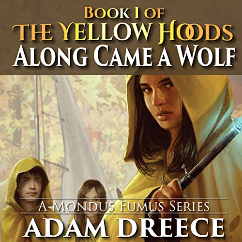 Along Came a Wolf audiobook cover art