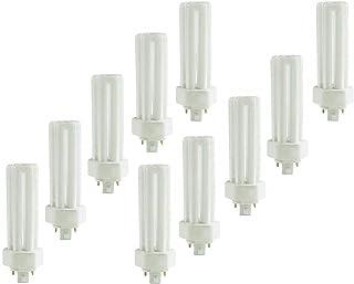 (10 Pack) PLT-42W 841, 4 Pin GX24Q-4, 42 Watt Triple Tube, Compact Fluorescent Light Bulb