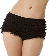 burlesque ruffle shorts