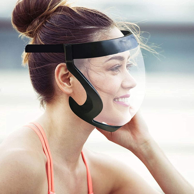 High-Definition Transparent Anti-Fog Rare Unisex Max 65% OFF Pr Face Full Shields