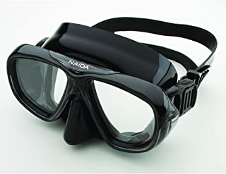 Riffe Naida Mask for Diving and Spearfishing (Black)