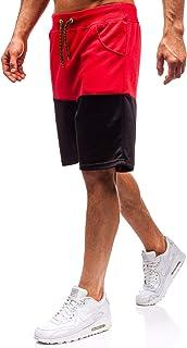 79bd56b5a0304b BOLF Pantaloncini Corti – con Cerniere - Stile Sportivo – da Uomo 7G7
