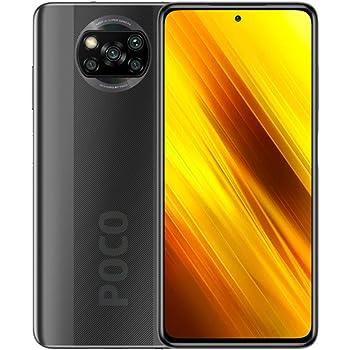 "Xiaomi Poco X3 Smartphone 6GB 128GB, Snapdragon 732G, 64MP Cámara, Pantalla 6.67"" Dot Display, NFC, 5160mAh batería, Versión Global (Gris, 6GB+128GB)"