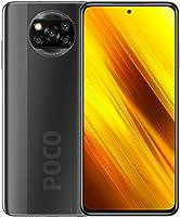 هاتف شاومي بوكو اكس 3 الذكي، NFC، شريحتين اتصال، 6 جيجا رام، 128 جيجا، اصدار عالمي - رمادي