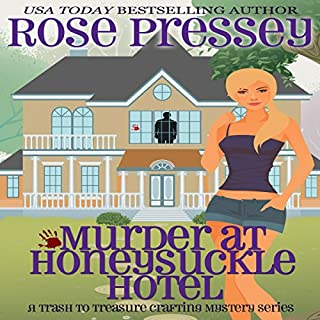 Murder at Honeysuckle Hotel cover art