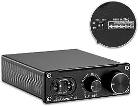 Nobsound G2 Subwoofer Amplifier & Mono Power Amp, PBTL/BTL Bridge, 100W Mini Sub Amp for Home Theater
