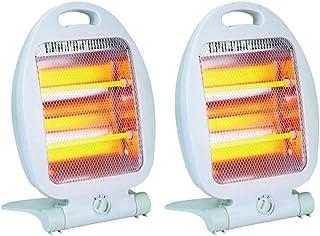 Estufa Calefactor Halógeno Portable 2 Barras 400/800W (Pack x 2)