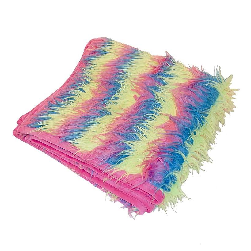 Birchwood Long Plush Novelty Throw Blanket, Snow Cone