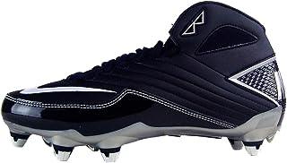 Nike Super Speed D 3/4 Mens Football Cleats Black/grey (13.5)