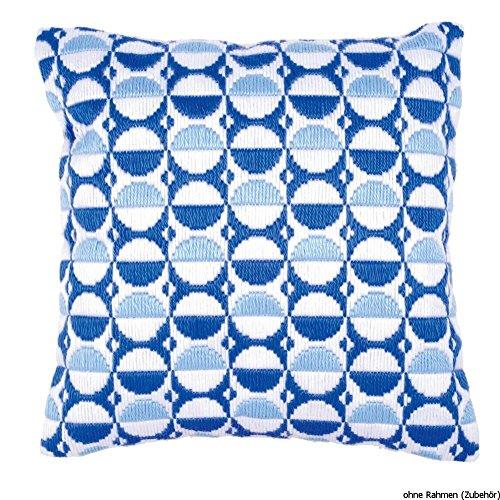 Vervaco PN-0145204 spansteekkussen bolletjes, blauw