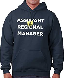 Brisco Brands Assistant to Regional Manager Show Comedy Hoodie
