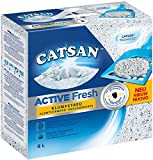 Catsan Active Fresh Litière agglomérante pour 8 L