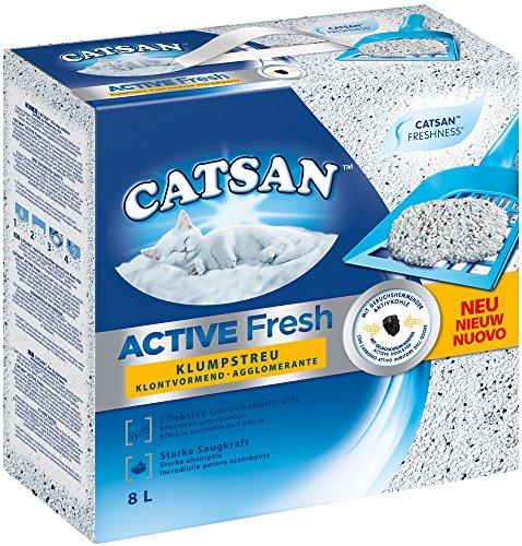 Lettiera agglomerante Catsan Active Fresh 8 Litri NUOVO
