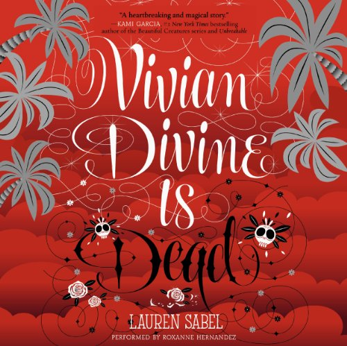 Vivian Divine Is Dead audiobook cover art