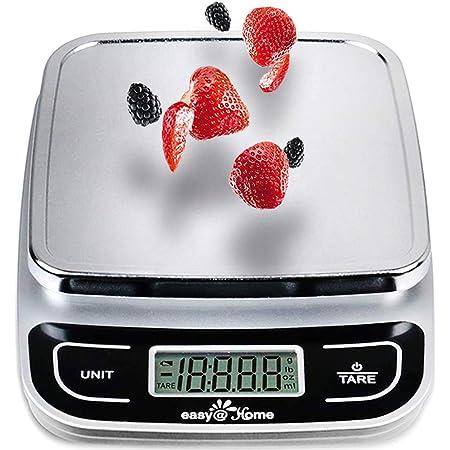 Easy@Home Nourriture Échelle Balance de Cuisine Alimentaire avec Une Grande Précision à 0,04oz et 11 lbs Capacité