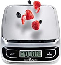 Easy@Home Digital Kitchen Scale Food Scale with High Precision to 0.04oz and 11 lbs Capacity, Digital Multifunction Measur...