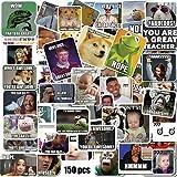 Meme Stickers/Meme Reward Stickers for Teachers 150pcs No Repetition