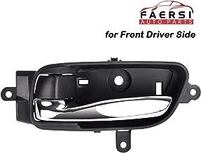 FAERSI Interior Door Handle Front Left Driver Side Fits 2013 2014 2015 2016 2017 2018 2019 Nissan Pathfinder Altima 2015-2018 Murano 2017-2019 Titan 2016-2019 Titan XD, 80671-3TA0D