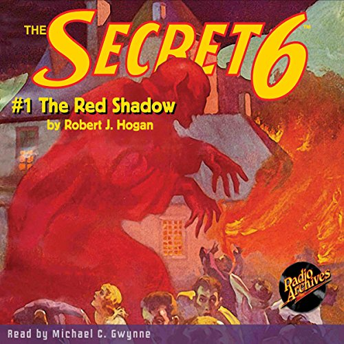 The Secret 6 #1: The Red Shadow audiobook cover art
