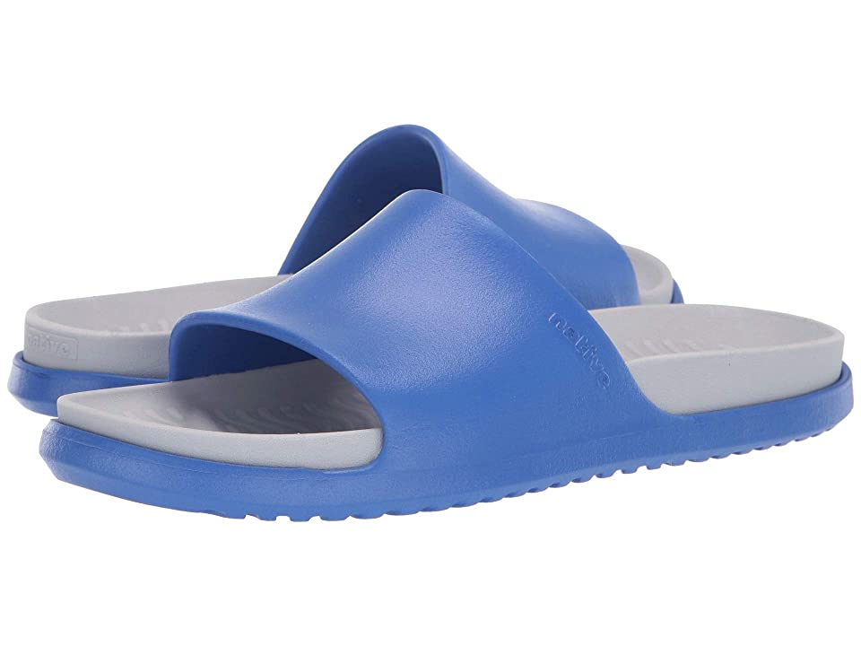 Native Shoes Spencer LX (UV Blue/Mist Grey) Sandals