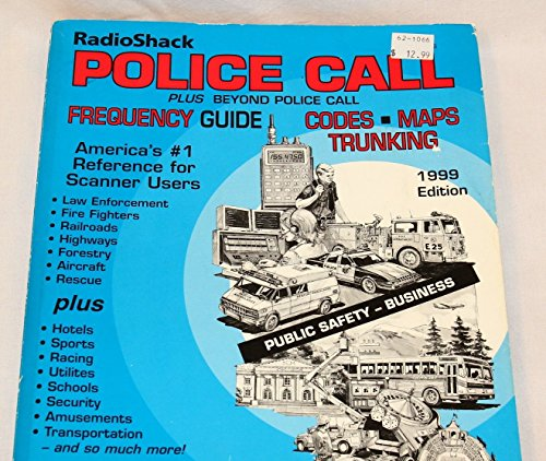 Radio Shack Police Call Plus Beyond Police Call Frequency Guide