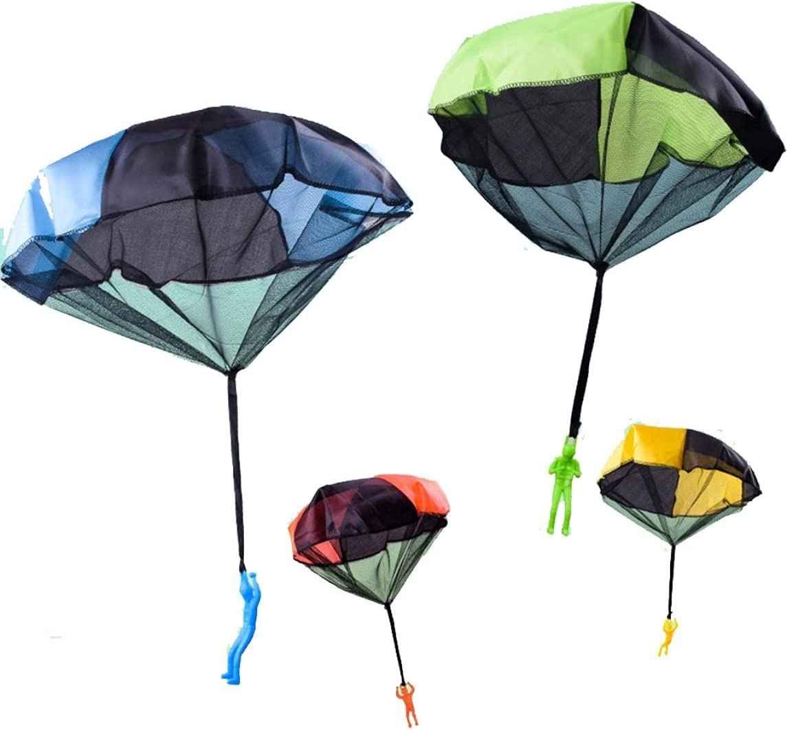 Funny Design Kids Hand Throwing Parachute Toy for Children Educa