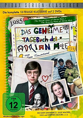 Das geheime Tagebuch des Adrian Mole 13 3/4 - Die komplette 13-teilige Kultserie (Pidax Serien-Klassiker) [2 DVDs]