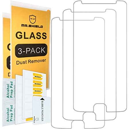 [3-PACK]- Mr.Shield For Motorola Moto E4 / Moto E (4th Generation) [Tempered Glass] Screen Protector [Japan Glass With 9H Hardness] with Lifetime Replacement