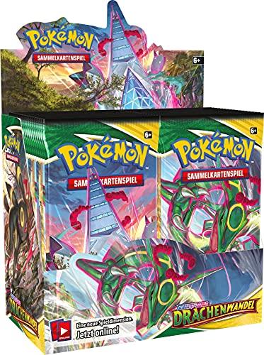 Pokemon TCG - Drachenwandel Display - Deutsch - mit GECO Spielmatte