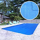 Robelle 1836RS-8 Box Heavy-Duty Solar Cover for 18 by 36-Feet In-Ground Swimming Pool, Blue
